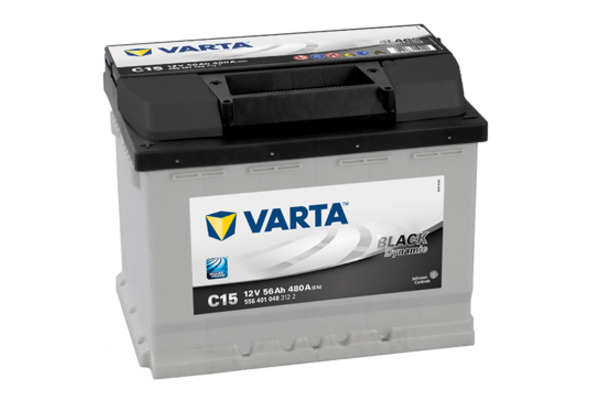 Akumulator VARTA BLACK dynamic 56Ah 480A 5564010483122