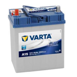 Akumulator VARTA BLUE dynamic 40Ah 330A 5401270333132