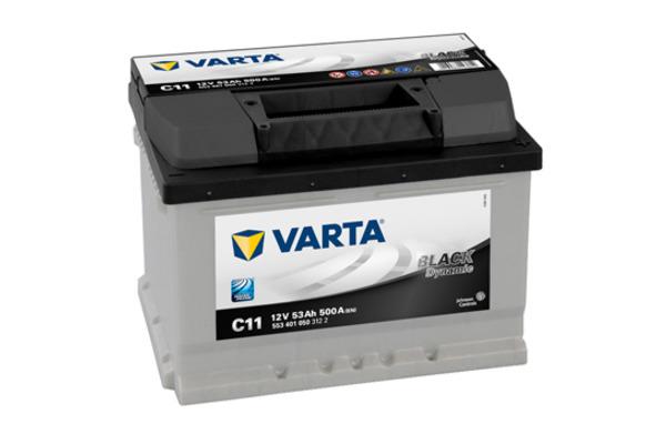 Akumulator VARTA BLACK dynamic 53Ah 500A 5534010503122