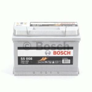 Akumulator BOSCH S5 77Ah 780A 0 092 S50 080
