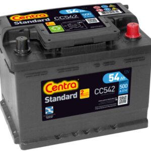 Akumulator CENTRA STANDARD 54Ah 500A CC542
