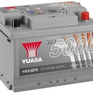 Akumulator YUASA 60Ah 620A YBX5075